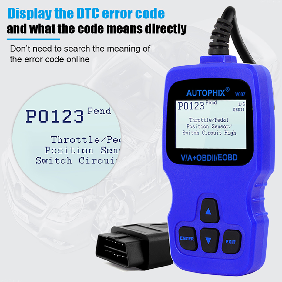 Details about VAG007 OBD2 Scanner Auto Scan Tool Engine ABS SRS Oil EPB for  Audi VW Skoda Seat