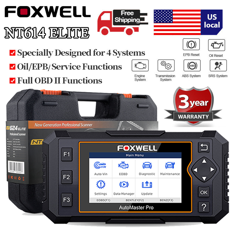 Automotive Scan Tool >> Details About Automotive Scanner Abs Srs Airbag Transmission Epb Oil Reset Obd Diagnostic Tool