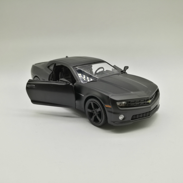 Chevrolet Camaro Model Cars 136 Toys Giftscollection Matte Black