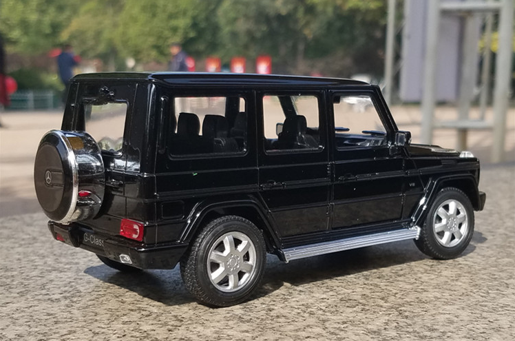 Mercedes Benz G Class G500 Model Cars Toys 1 24 Collection Black