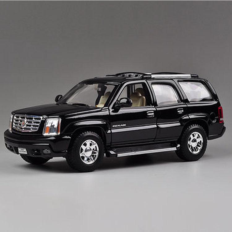 Escalade Cadillac SUV 2002 Model Cars 1:24 Toys Collection