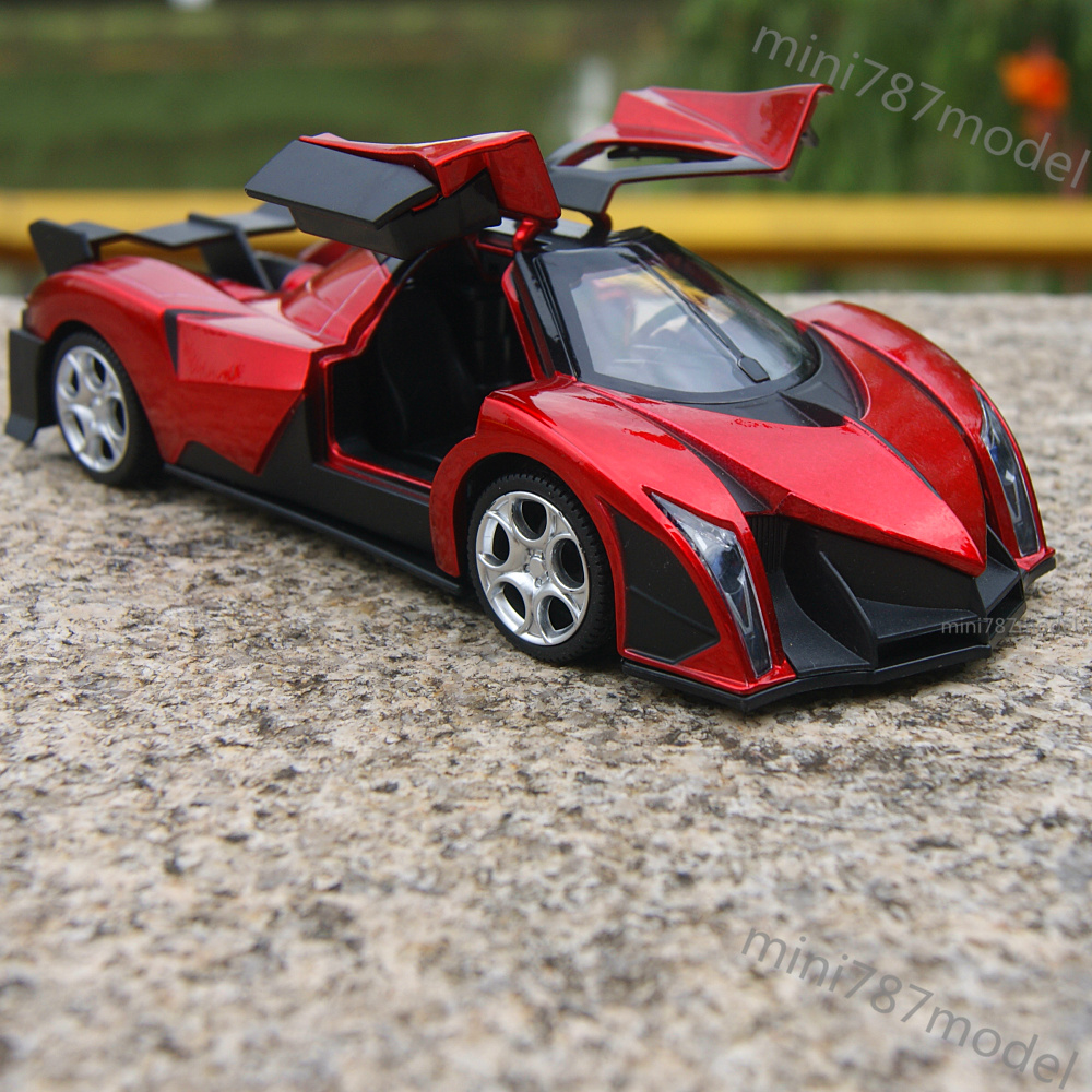 Devel Sixteen Super Cars Model 1 32 Sound Amp Light Collection