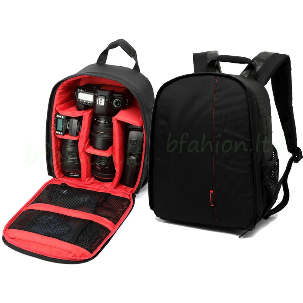 Waterproof Camera Backpack Bag Lens Case Rucksack For DSLR SLR Canon EOS Nikon 2