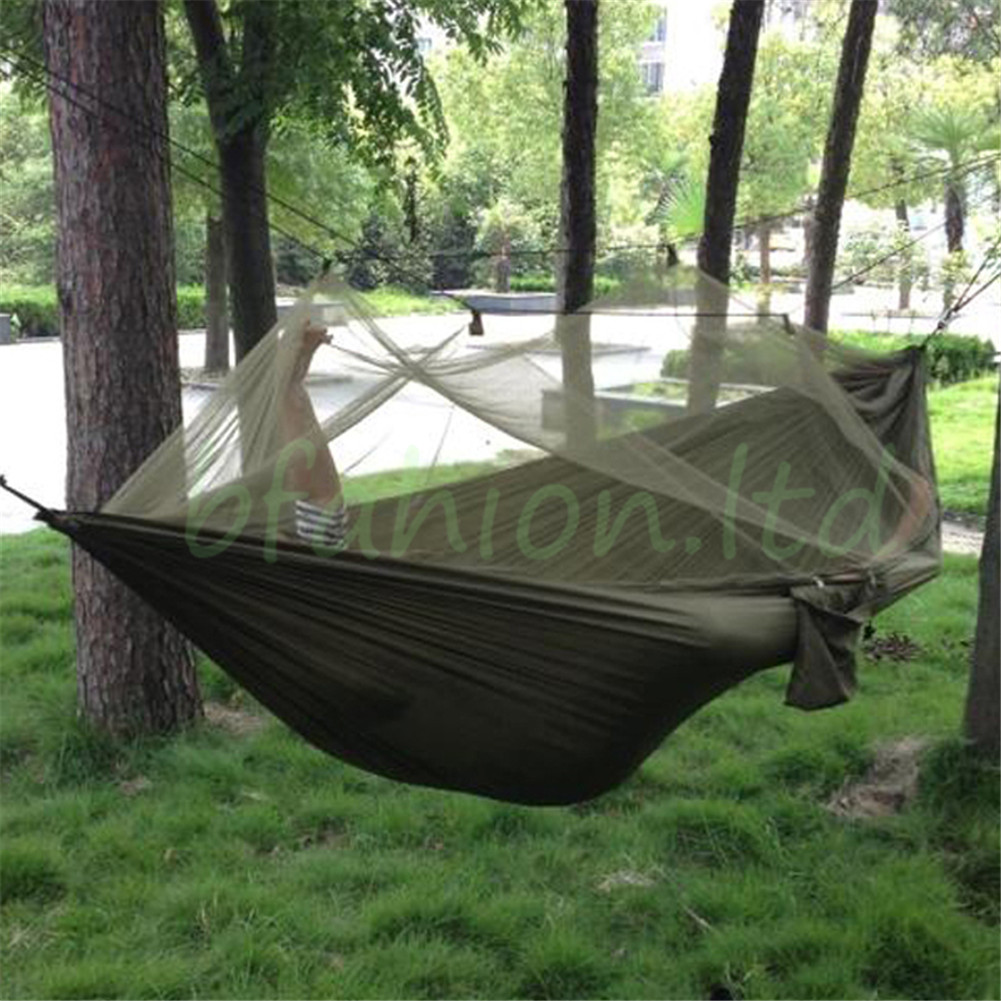 Medium image of uk camping jungle hammock anti  mosquito hiking military survival bushcraft gear
