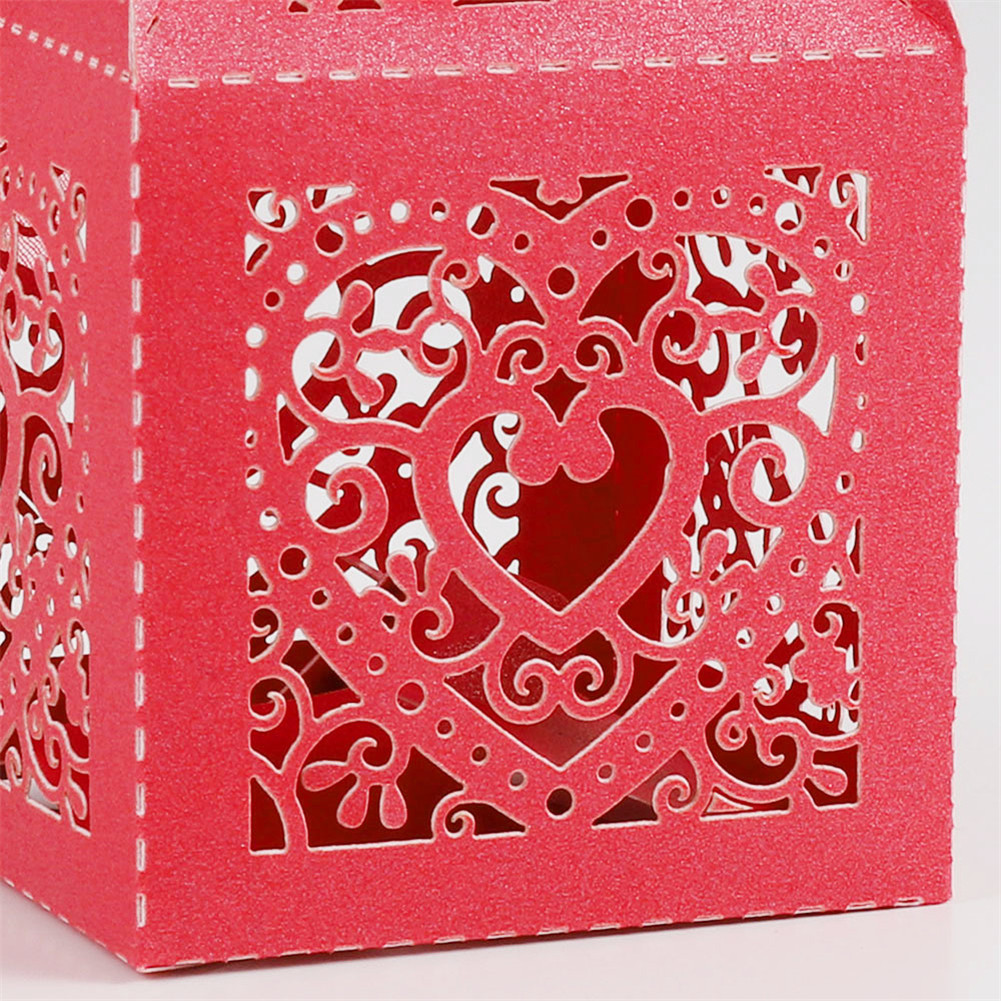 25x Wedding Favour Boxes Sweet Cake Gift Candy Favor Boxe Party ...