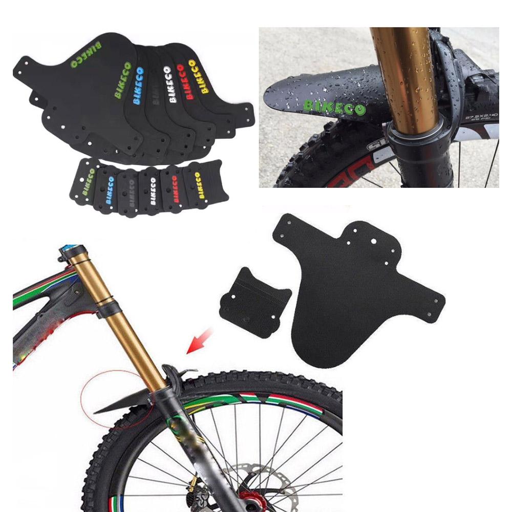 1 Set MTB Mountain Road Bike Bicycle Front Fork Mud Guards Mudguard Fenders SA