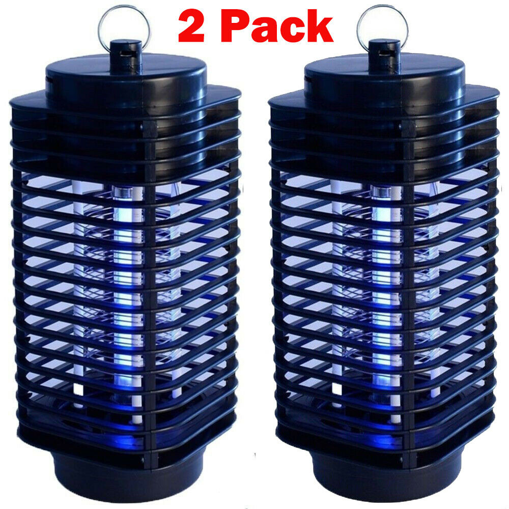 Electronic UV Mosquito Insect Bug Zapper Killer Repellent Exterminator Lamp
