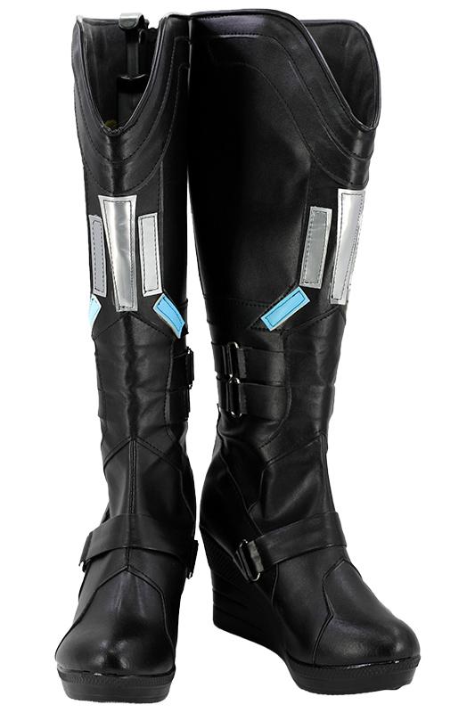Avengers 3 Infinity War Black Widow Natasha Romanoff Cosplay Boots Custom Made