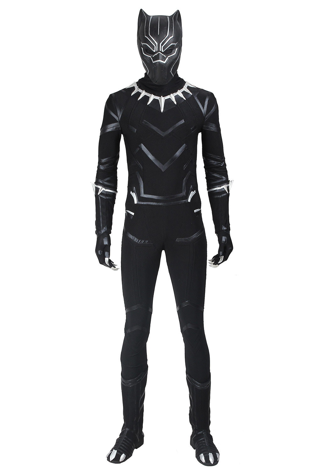 Marvel 2018 Black Panther Tu0026#39;Challa Outfit Whole Set Cosplay Costume Uniform Suit   eBay