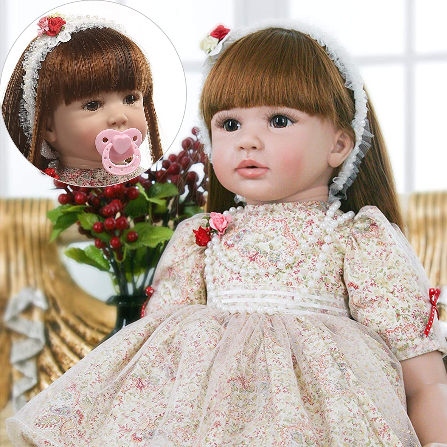 Reborn Toddler Dolls Realistic Baby Doll Handmade Princess ...
