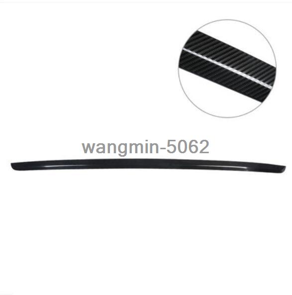 Carbon Fiber Steel Rear Trunk Lid Tailgate Lower Cover