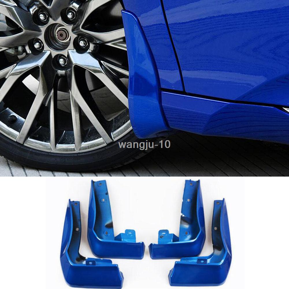 For Honda Civic 2016-2018 ABS Blue Splash Guards Mud Flaps Fenders Cover 4PCS