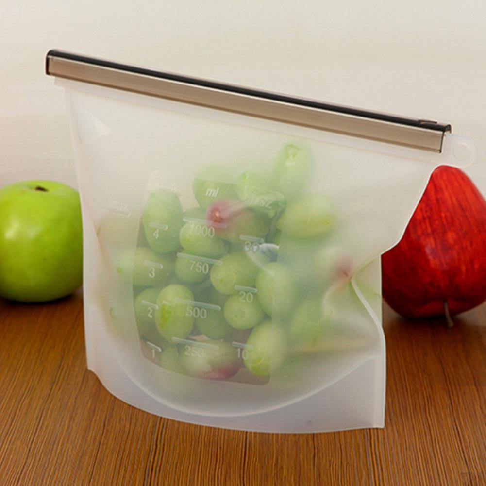 Reusable Silicone Preservative Food Storage Bags