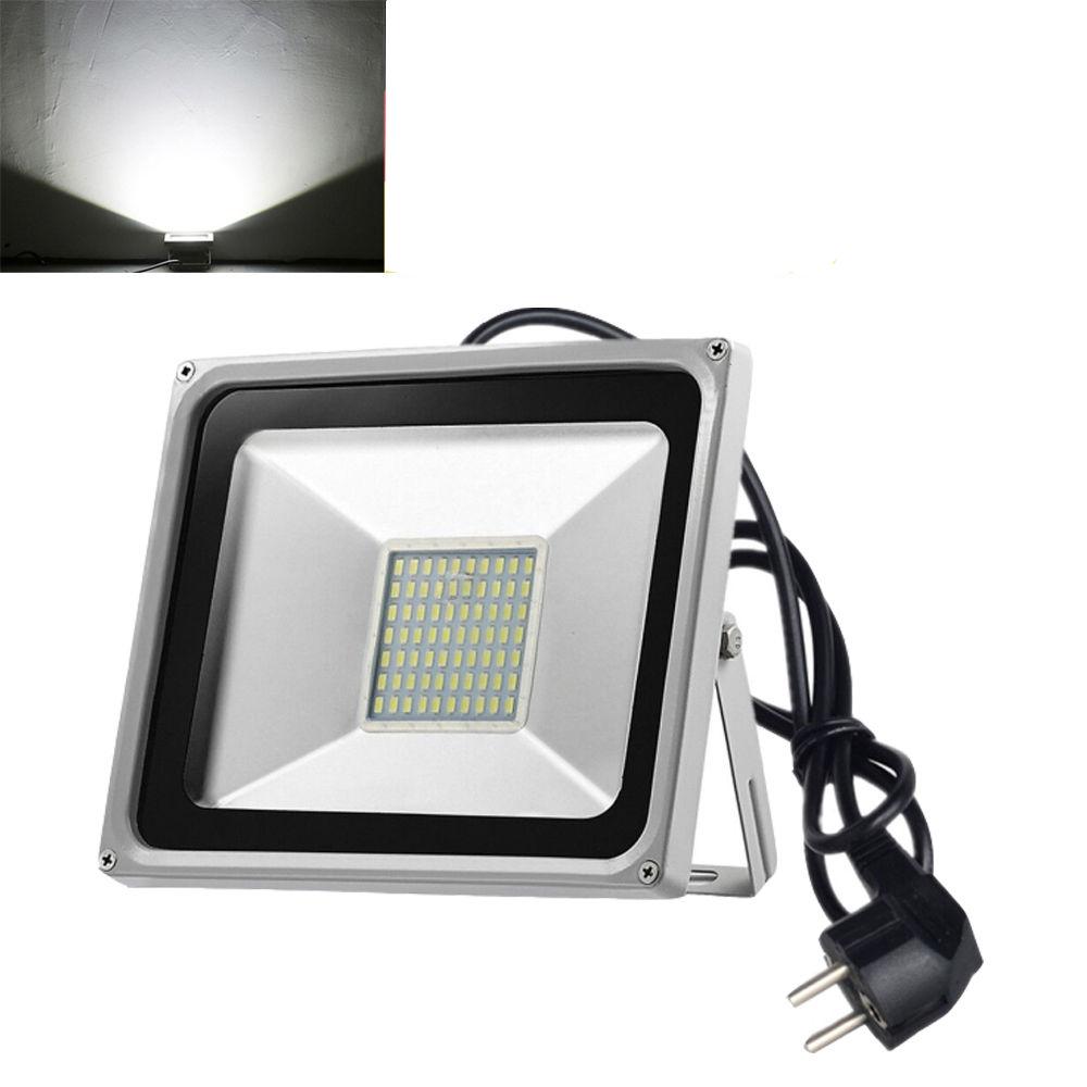 LED-Fluter-Flutlicht-20W-50W-100W-500W-SMD-Aussen-Strahler-Scheinwerfer-220V-IP65