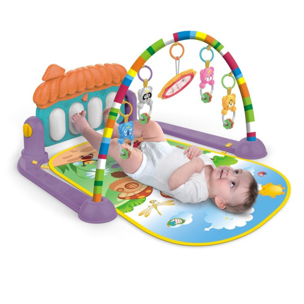 Russian Language Musical Baby Blanket Kid Crawl Mat Toys Play Mat Carpet