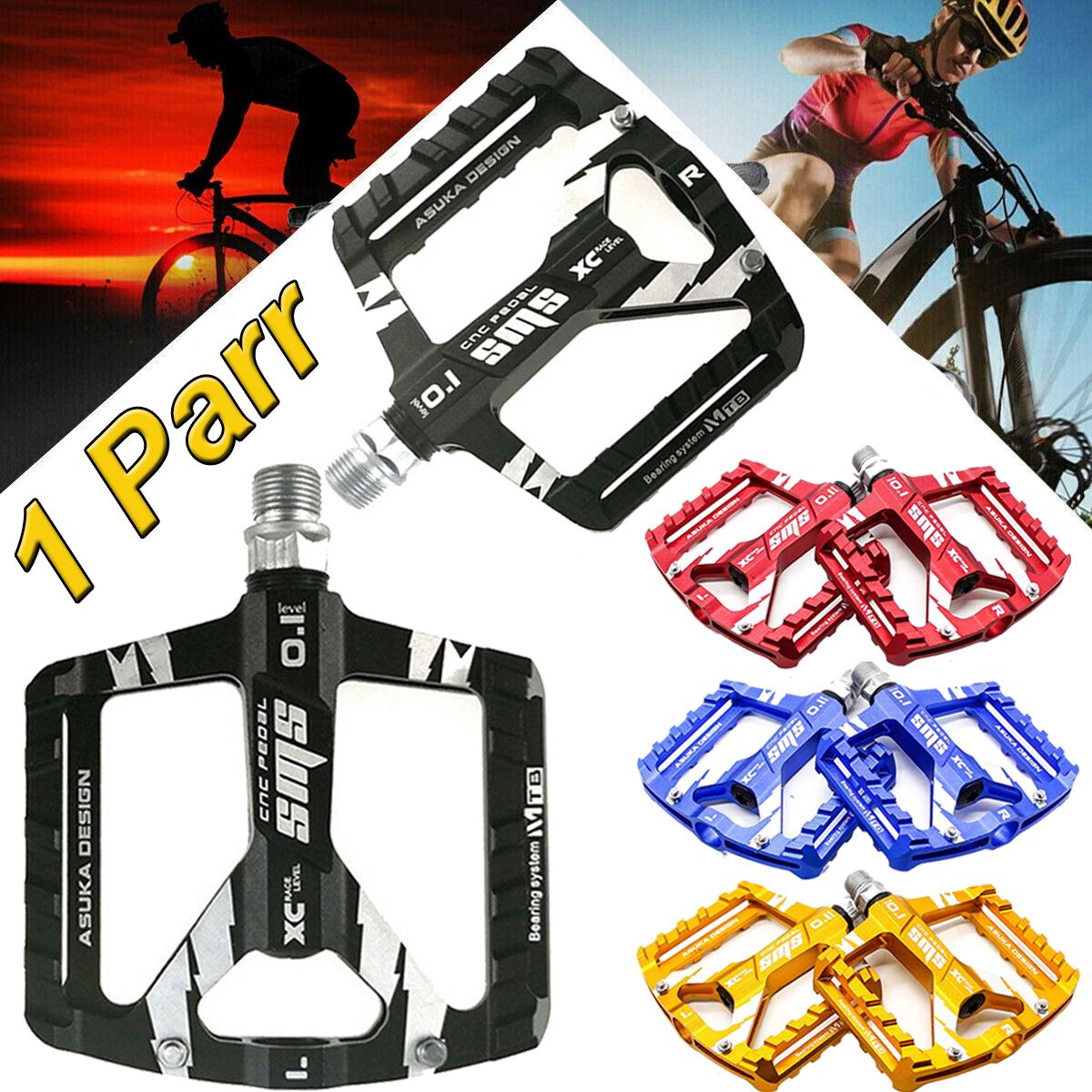 1 Paar Fahrradpedale Pedalen Fahrrad Rennrad MTB Trekking Rutsch Radsoprt DHL