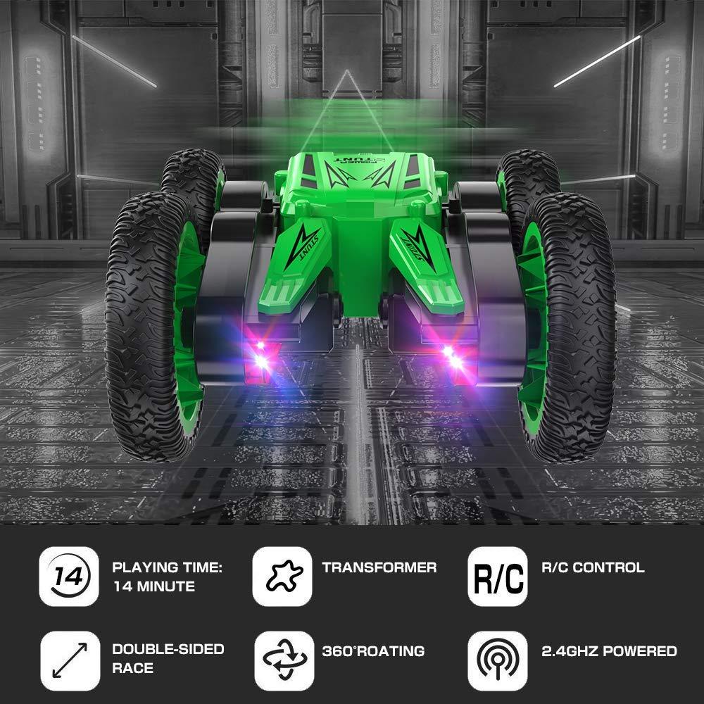 Funk Ferngesteuertes Auto RC Stunt Rennauto Rennfahrzeug 2.4Ghz Kinder Spielzeug