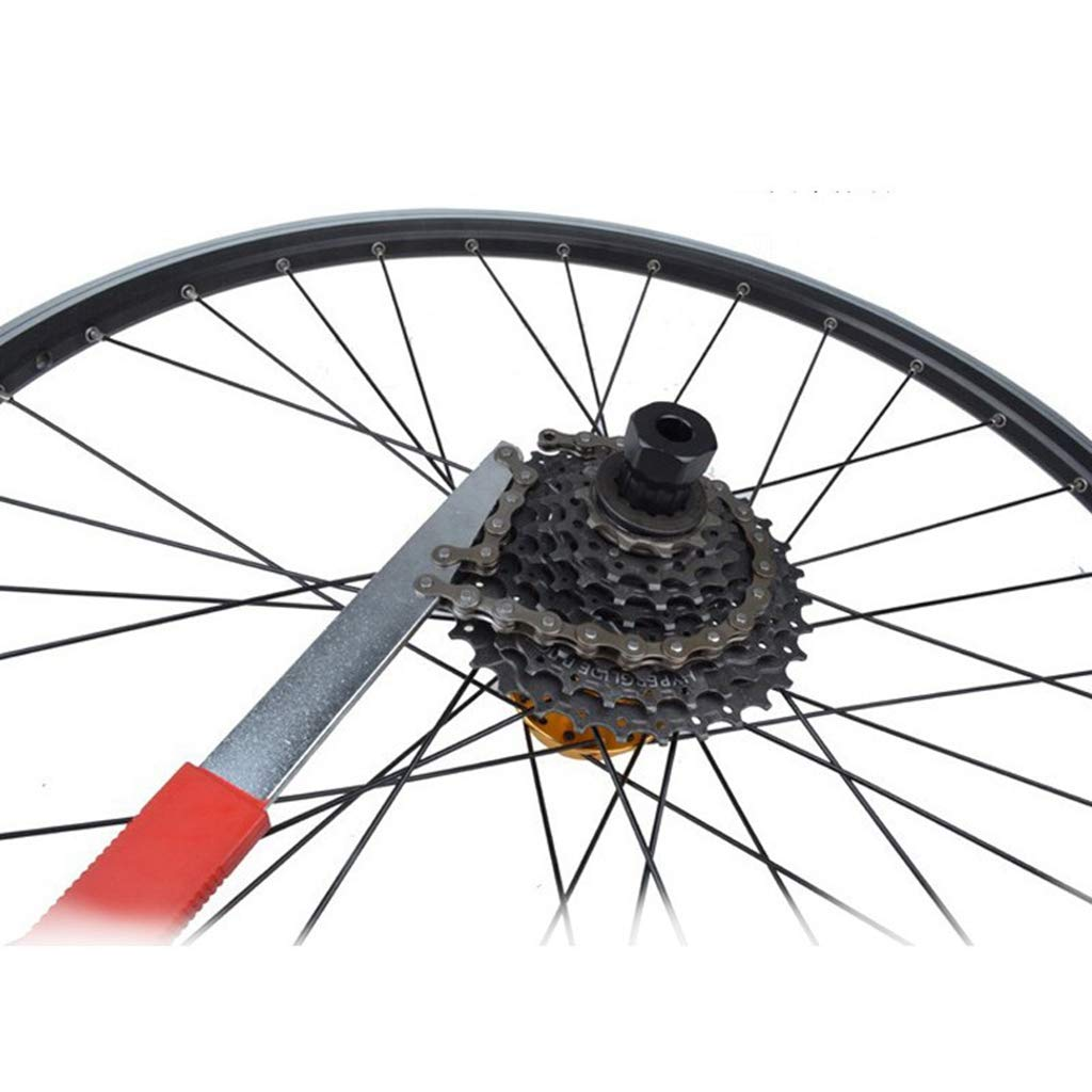 10 Speed Schwungrad Demontage Ring Lock Remover Carbonized Steel Mountainbike Zerlegen Repair Tool f/ür 6 9 8 7