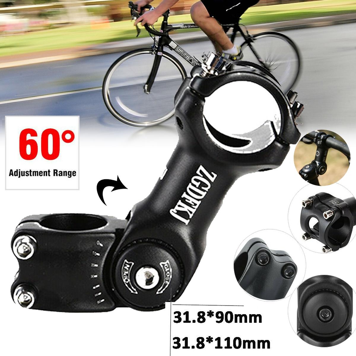 Bicycle Handlebar Fork Stem Extender Riser 31.8mm Head Up Adjustable Adapter