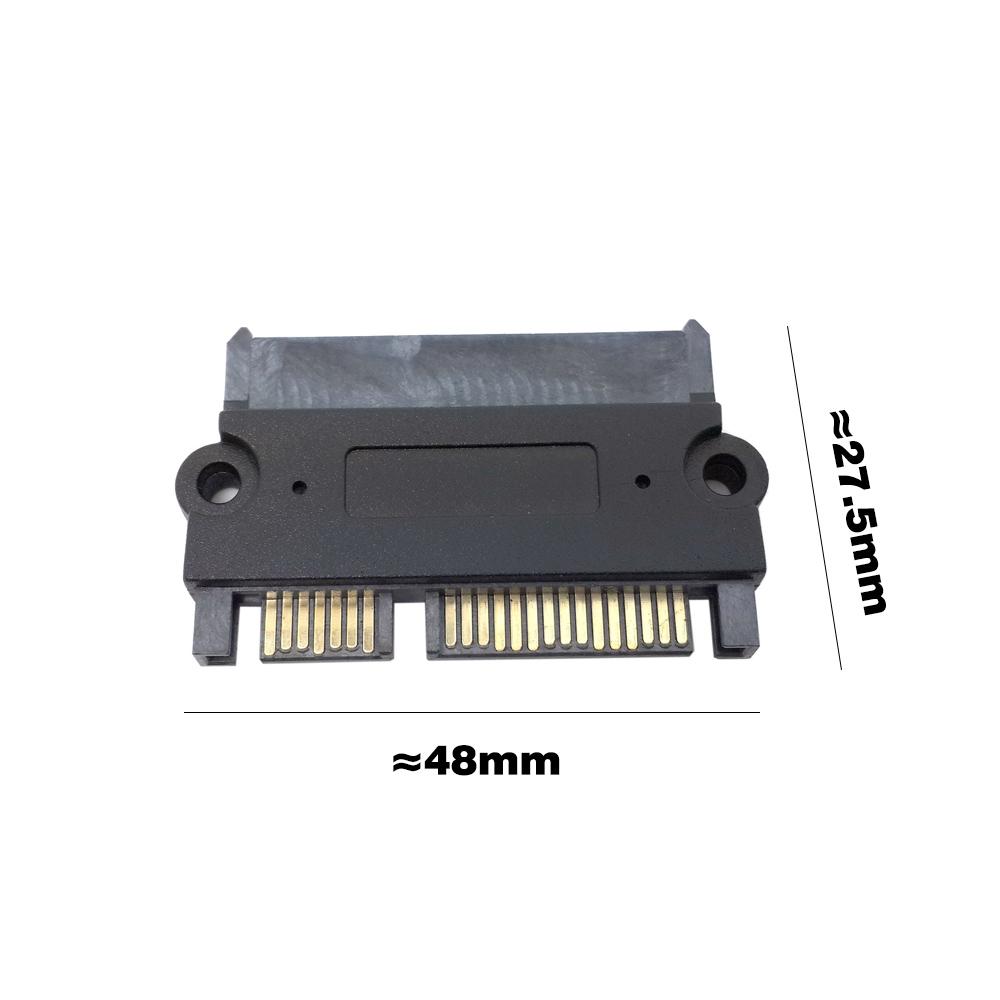 22Pin 7+15 Pin Male Plug to SATA 22Pin Female Jack Convertor M//F Adapter SAS HL