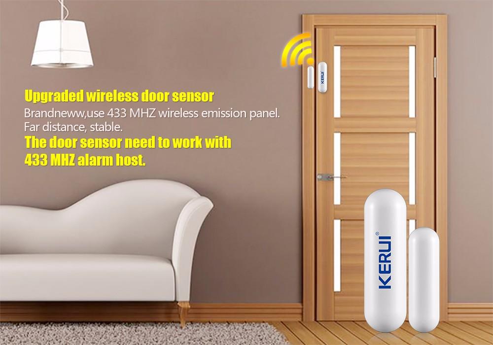 Two Way Door kerui d026 two-way door windows magnet detector for home alarm