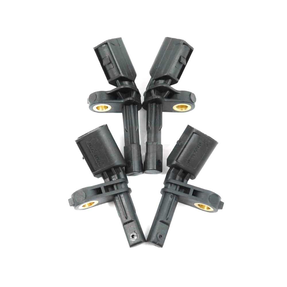4x ABS Wheel Speed Sensor Front /& Rear+Left /& Right for 2006-2013 Volkswagen Gti