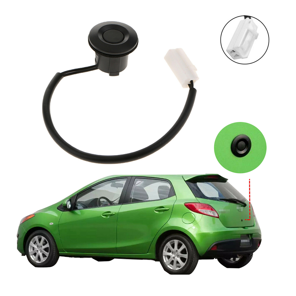 Rear Back Trunk Door Liftgate Luggage Lock Push Switch Button fits Mazda 2 M2