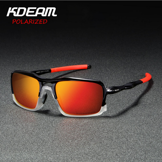 KDEAM Men TR90 Polarized Sunglasses Outdoor Driving Fishing Riding Glasses New