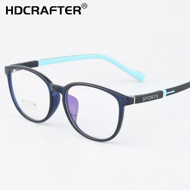 ad550583bb8 New Unisex TR90 Myopia Glasses Frame Fashion Student Sport Optical Eyewear  Frame