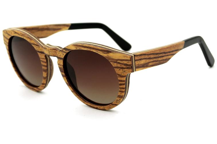 unisex men women wood sunglasses wooden frame glasses - Wooden Frame Sunglasses