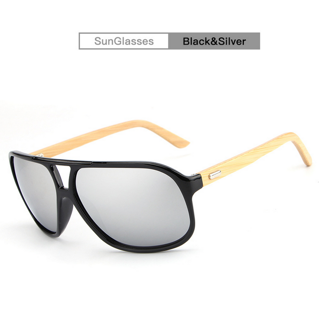 f48b0708d17 Details about Unisex Men Women Bamboo Sunglasses Wooden Frame Retro Eyewear  Fashion Design