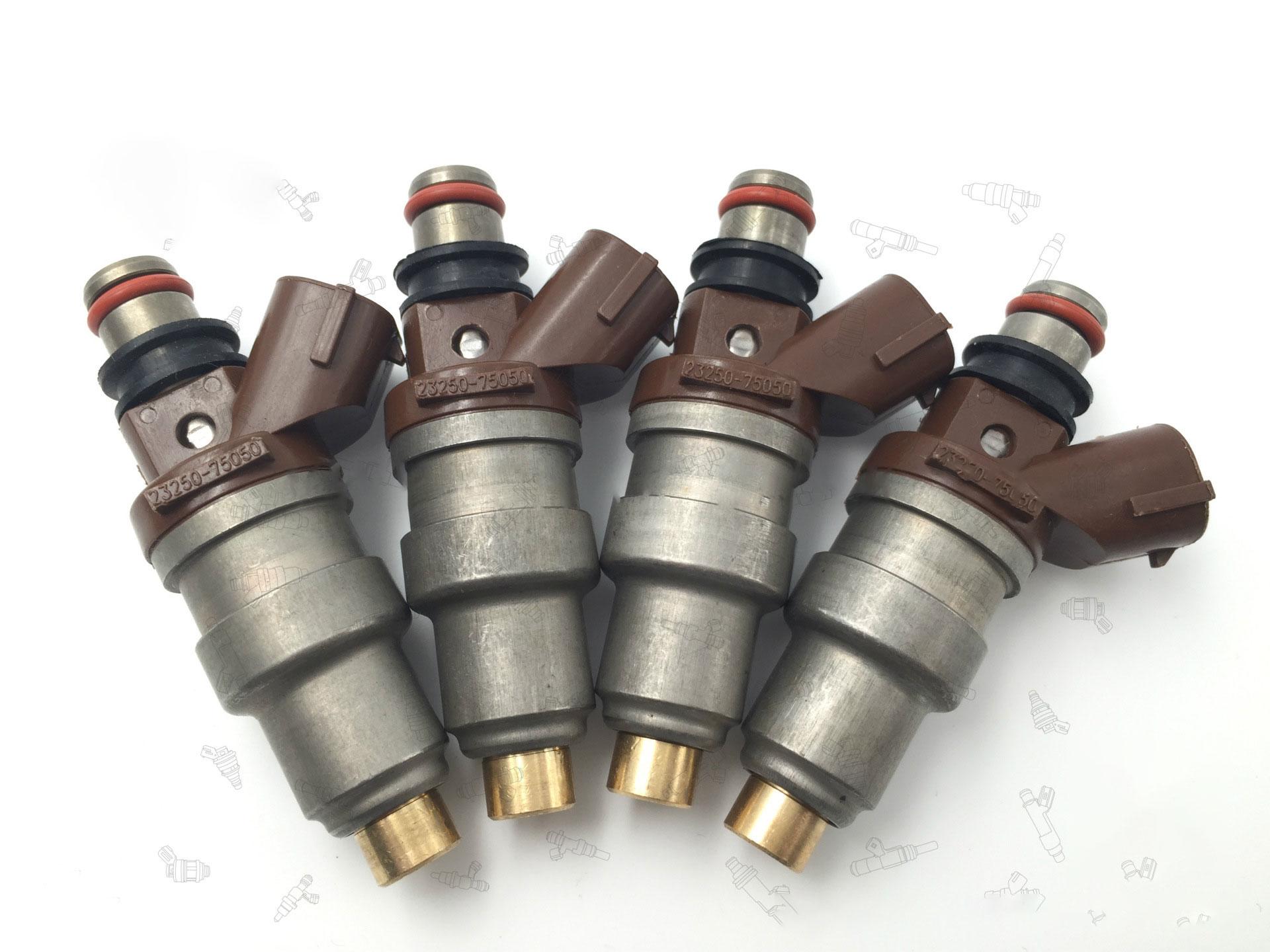 XWAUTOGJ Set Of 4 Fuel Injector Nozzles For 1996-2000 Toyota 4Runner Tacoma T100 2.7L L4 2320979095 23250-75050 23209-79095 2320939015