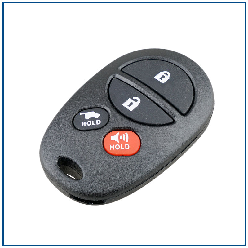 Heart Horse Replacement 3 Buttons Remote Control Case Smart Key Fob Shell Case for BMW 1 3 5 6 Series X5 X 6 M5 M6