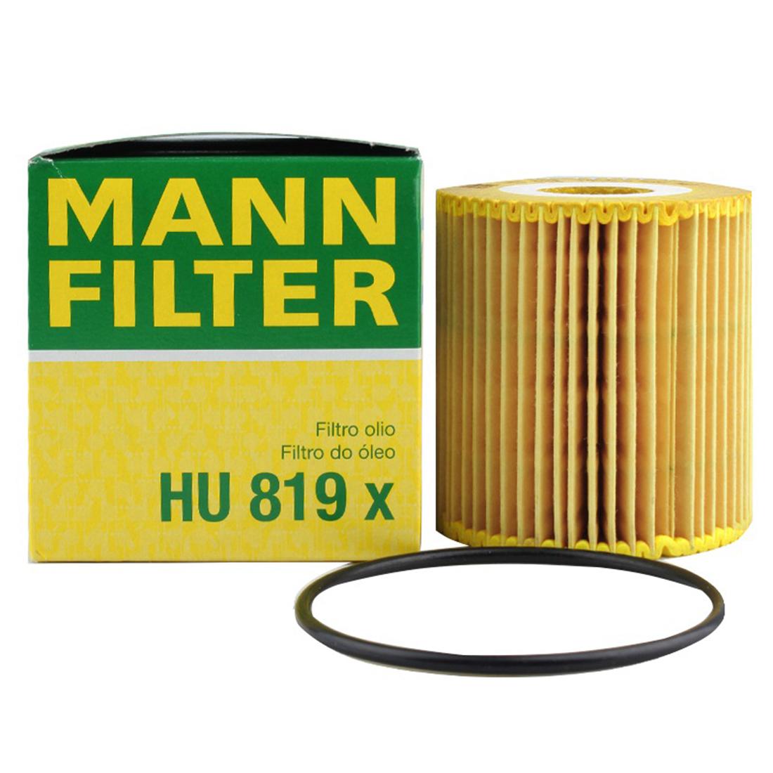 Details about Original HU 819 X Mann Engine Oil Filter For 1999-2009 Volvo  V70 S80 C70 1275810