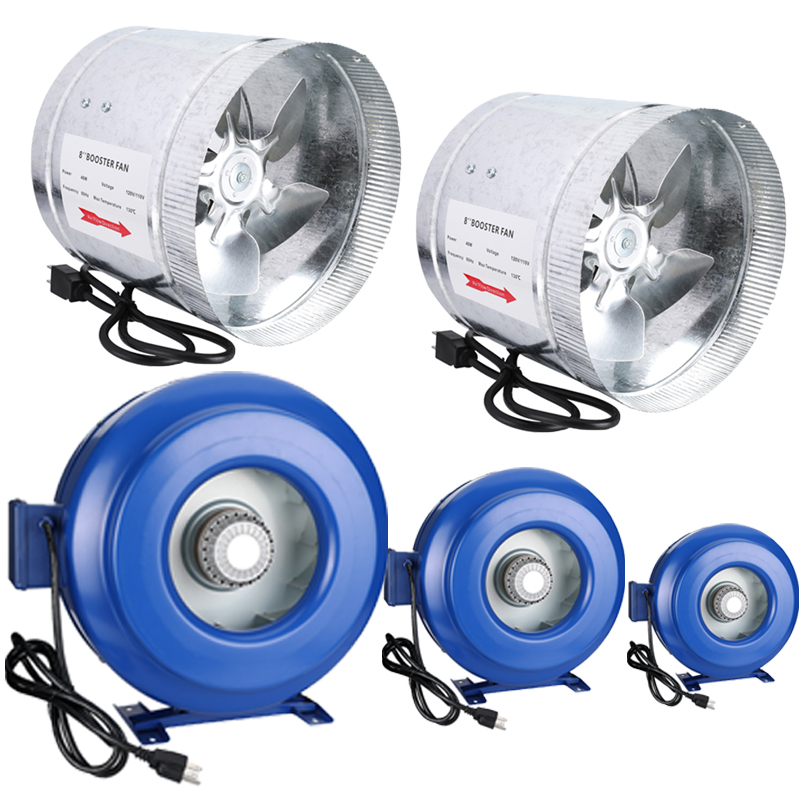 "4"" 6"" 8"" 10"" 12"" inch Inline Duct Booster Fan Ventilation ..."