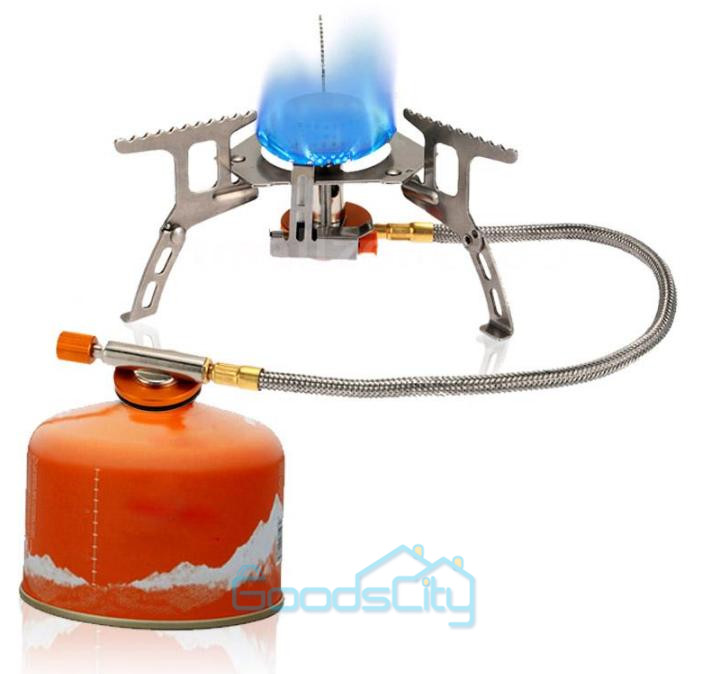 Portable Backpacking Gas Butane Propane Canister Outdoor Camping Stove Burner