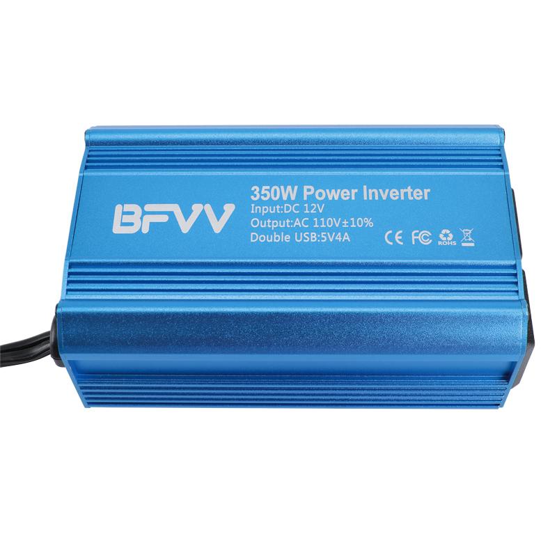 350Watt Peak Power Inverter DC 12V to 110V 110V AC Converter Adapter Charger