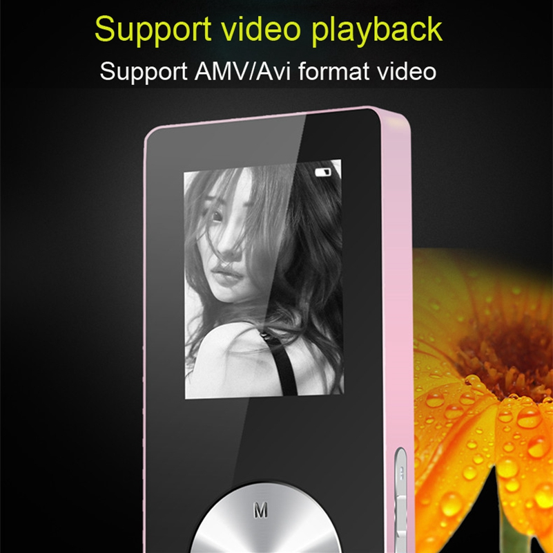 Details about MP3 Player 8GB-256GB Memory Card Bluetooth MP4 Player Music  Walkman Black Player