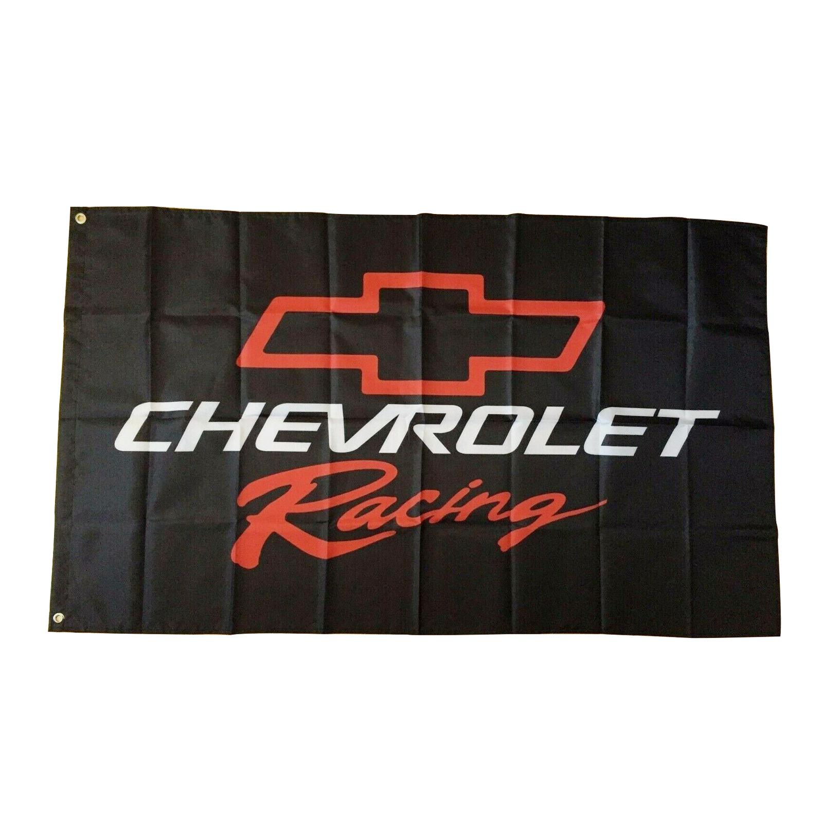 Chevrolet CAMARO Logo Flag Banner 3x5 ft Racing Car Show Garage Wall Decor Sign