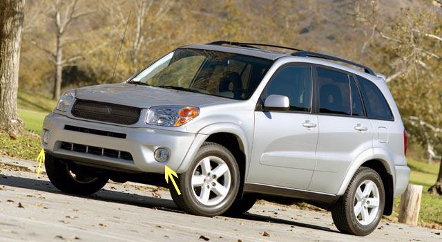 2xfor Toyota Rav4 2004