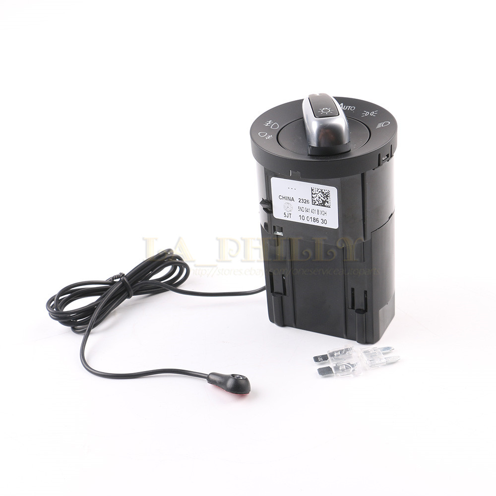 Auto Headlight Switch Module With Light Sensor For Vw Golf