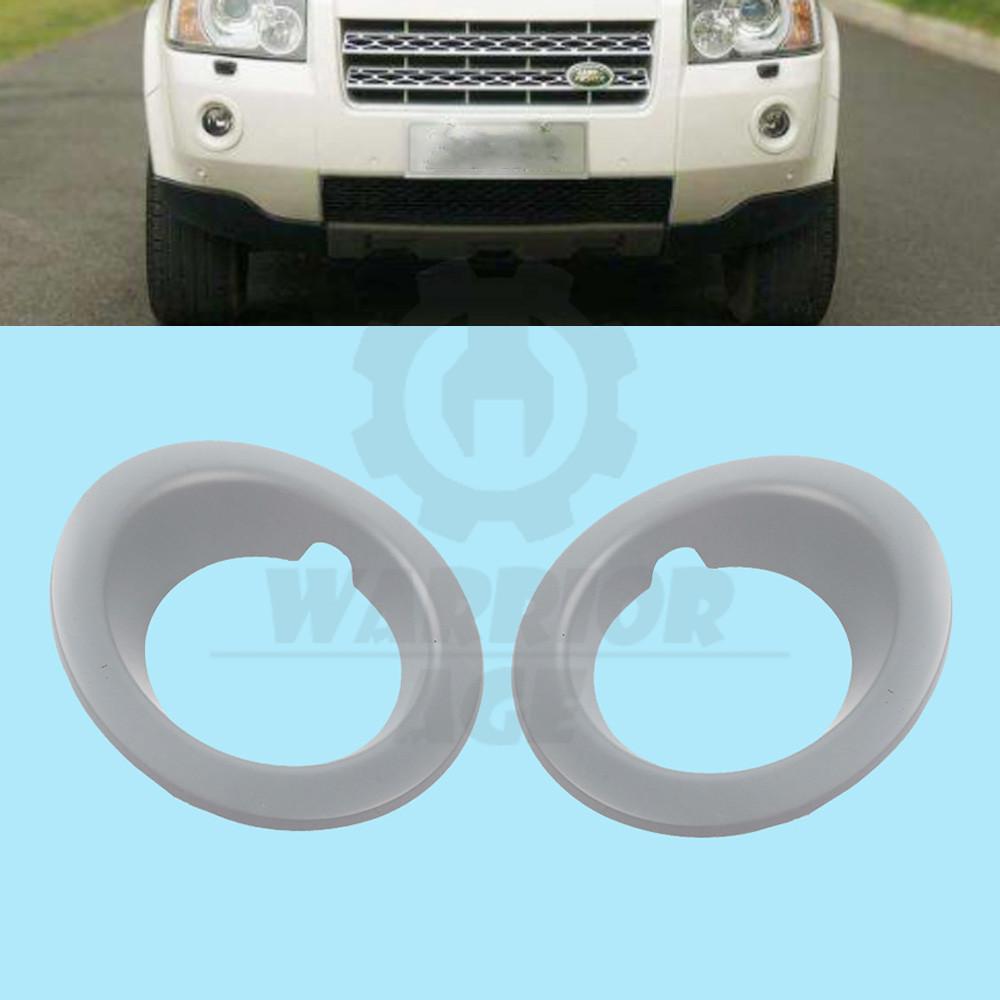 Pair Fog Lamp Bezel Left /&Right Side For 2010 2012 2013 2014 Land Rover LR4