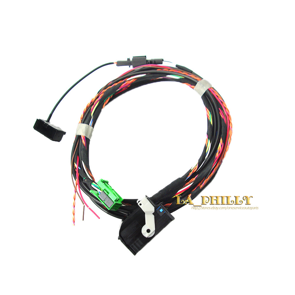 Oe Wiring Harness Oem Microphone Bluetooth Loom For Vw Rcd510 Module