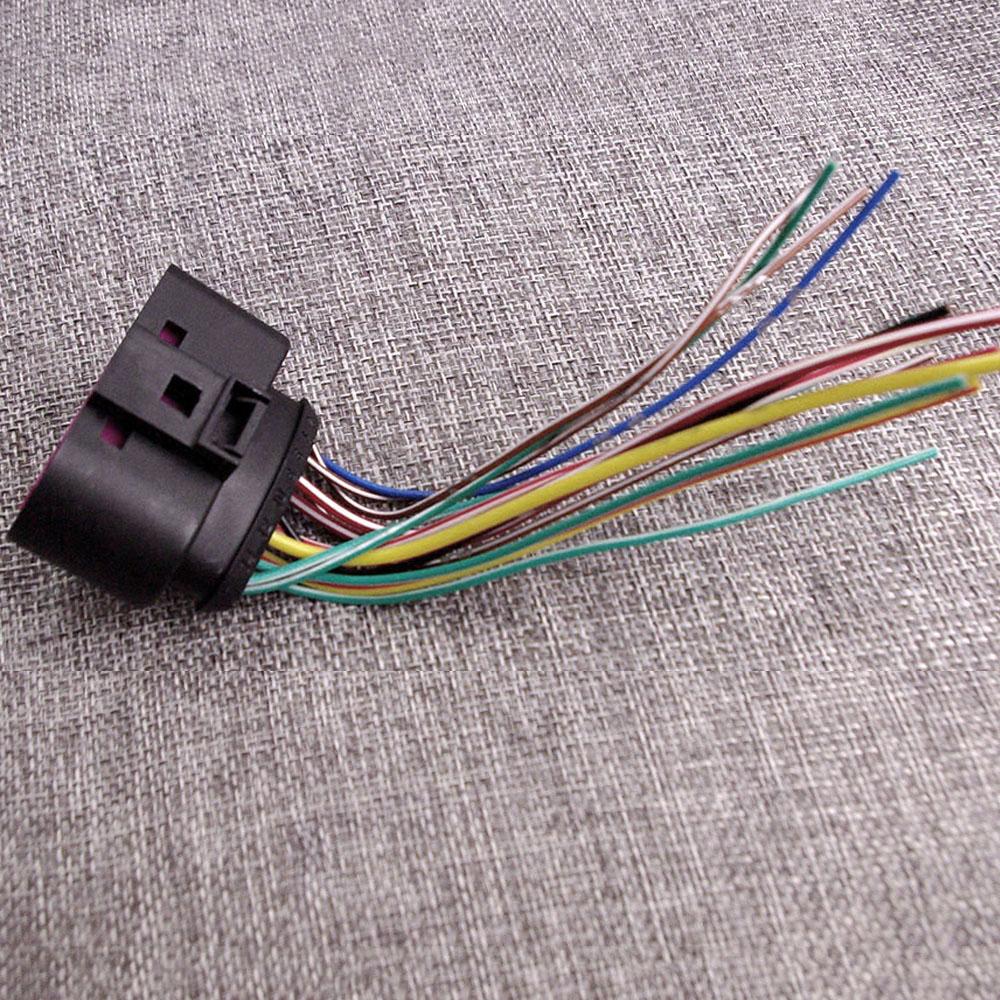 #1J0973737 Xenon Headlight Plug 14 Pin For AUDI Q5 2009 ...