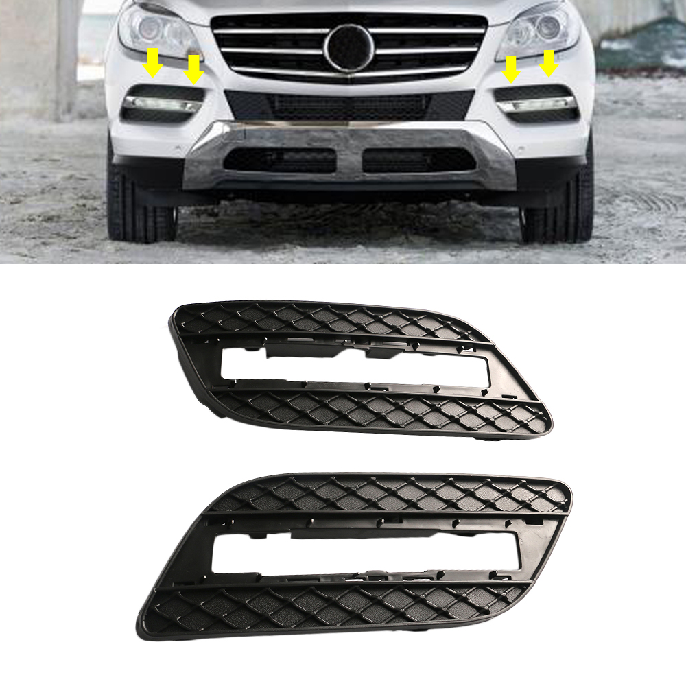 Front,Left Driver Side BUMPER GRILLE For Mercedes-Benz ML350,ML550 1668842122