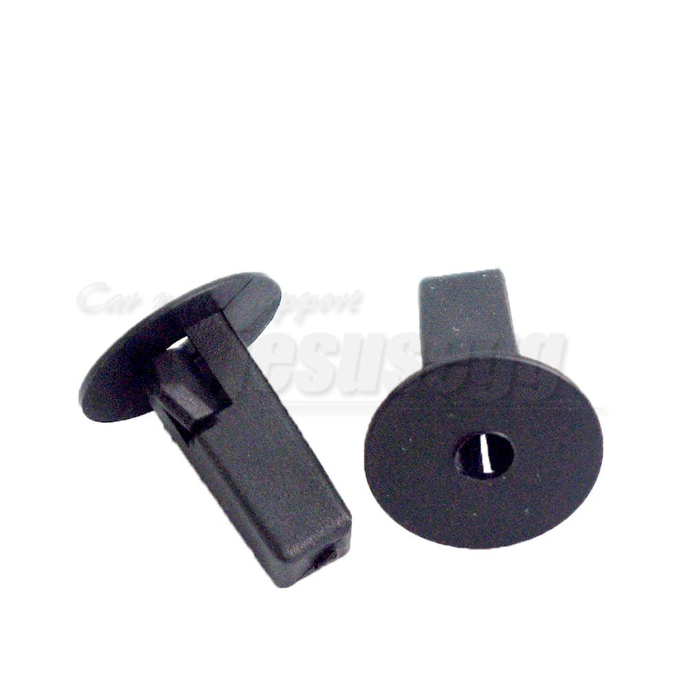 30Pcs Clips 90189-06013 Grommet Moulding Clip Nylon Nut A14267 For Toyota Lexus