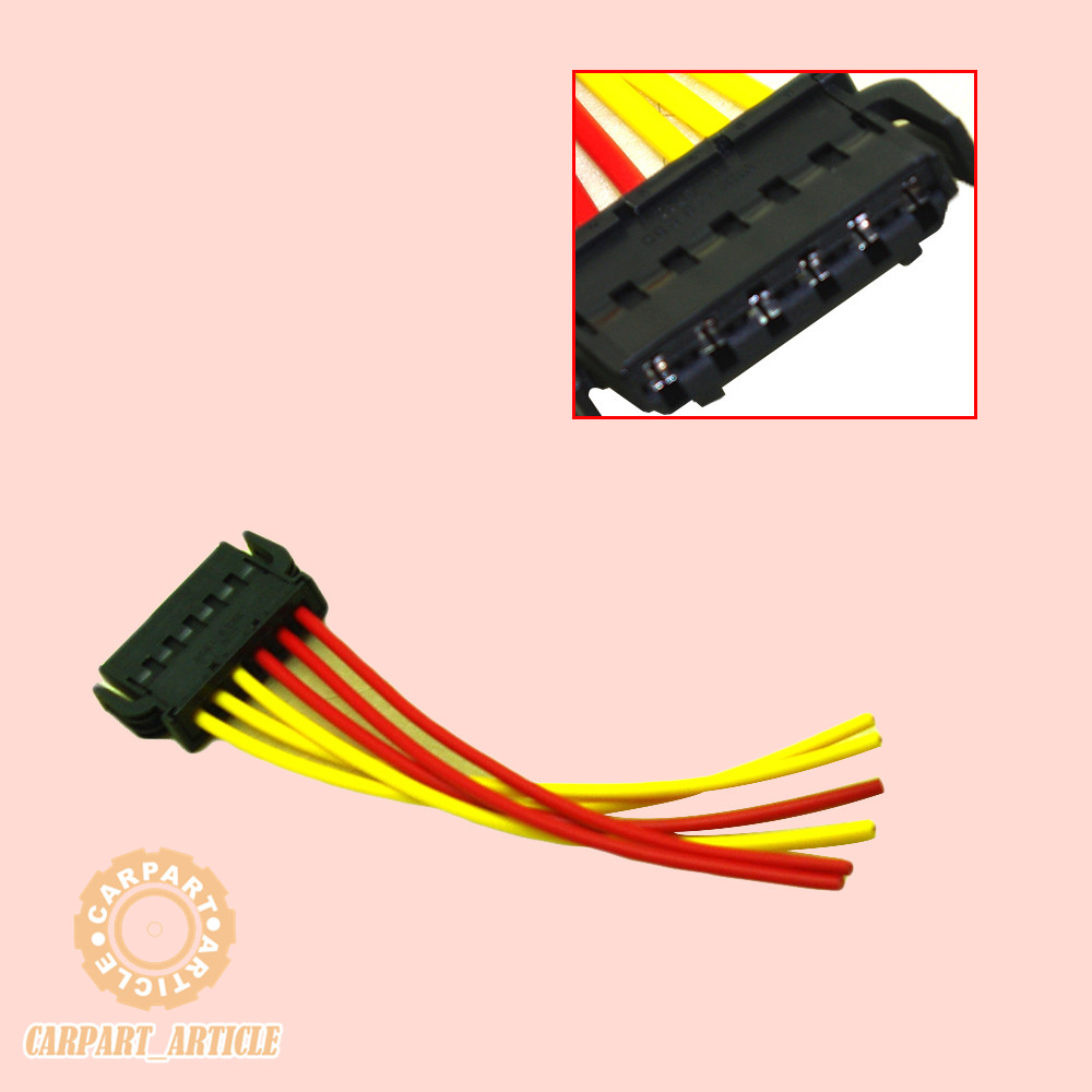 Rear Tail Light Wiring Connector Plug 6 Pin 893971636 For Audi Vw New Skoda Seat