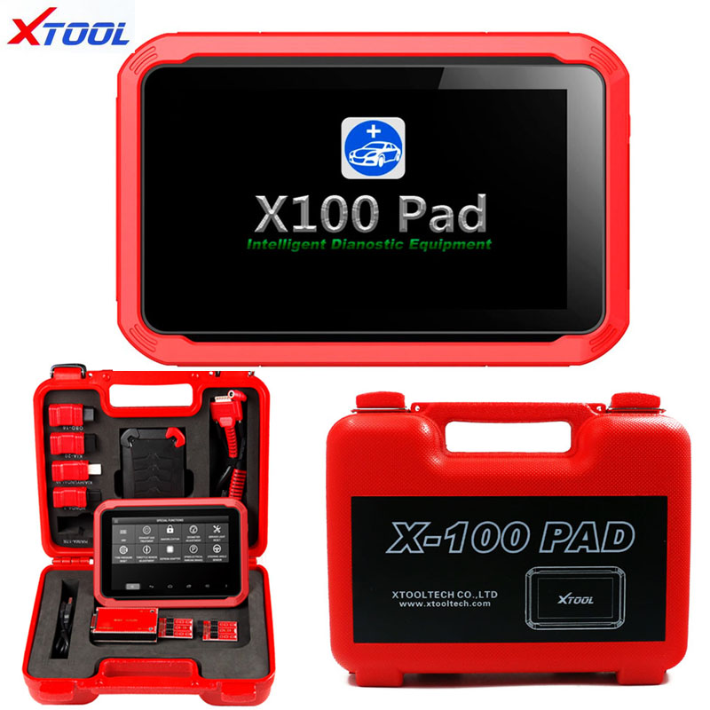 Details about XTOOL X-100 PAD Tablet Auto Programmer OBD2 Diagnostic Tool  EPB DPF Oil Reset