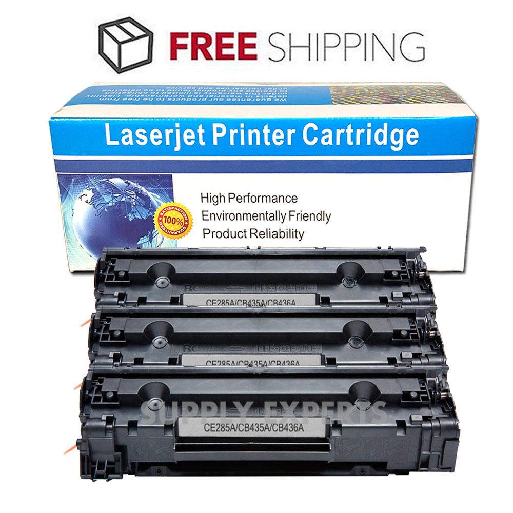 3pk Compatible 85a Ce285a Toner Cartridge For Hp Laserjet Pro P1102w Ce 285a Black M1217nfw Mfp