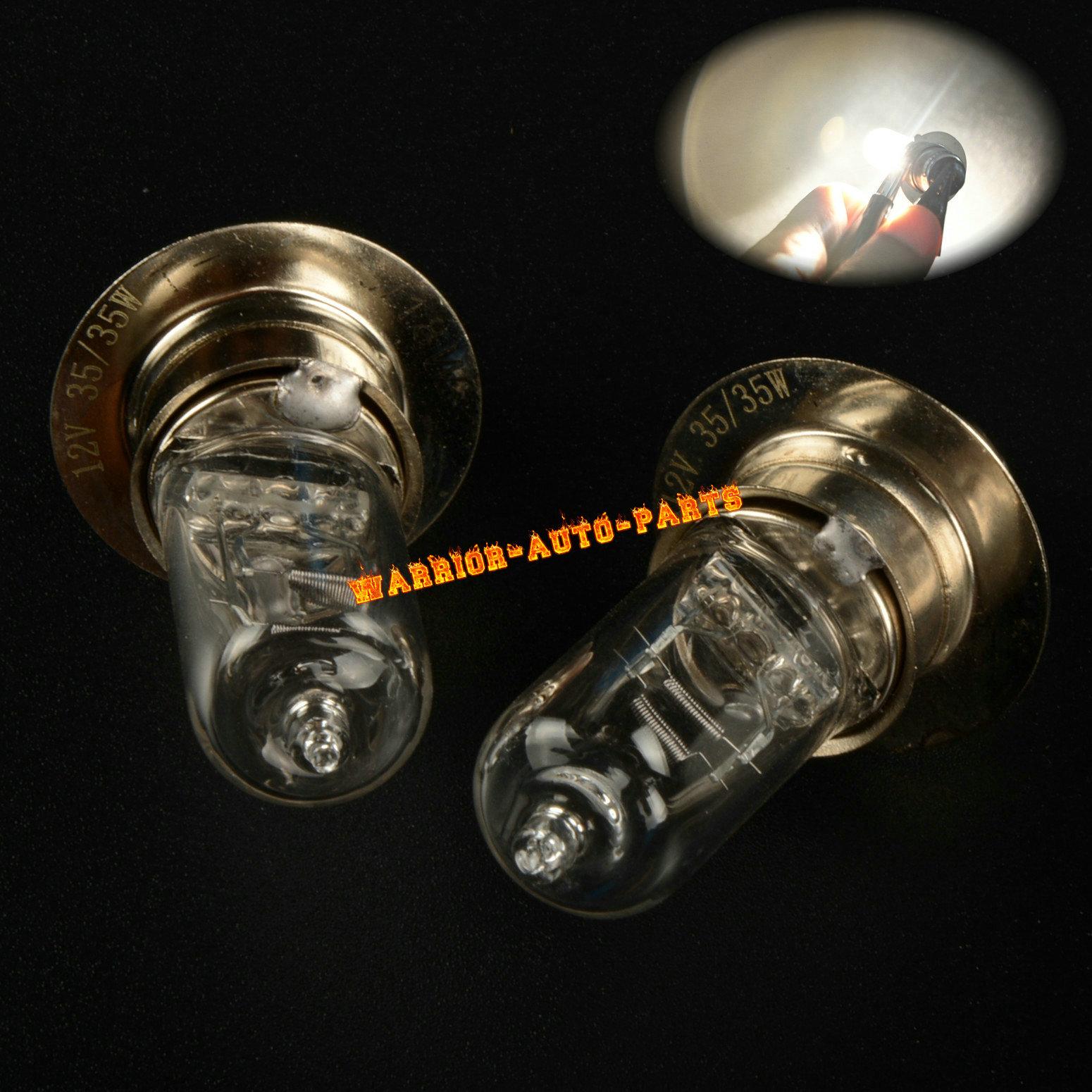 Yamaha Bear Tracker YFM 250 50W Headlight Bulbs 1999 2000 2001 2002 2003 2004